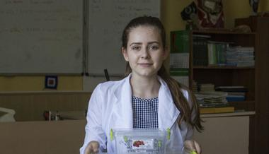 Lyceum Student from Donbas Won atthe GENIUS Olympiad inthe USA
