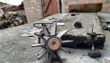 PHOTOS. Pro-Russian Militants Fired atDonbas City, Houses and Car Are Damaged