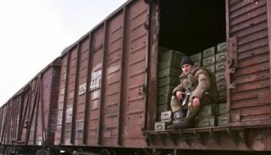 Trains with Shells and Fuel GotoOccupied Donbas from Russia