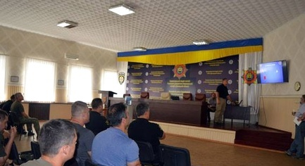 PHOTOS. FBI Agent Conducted Training for Policemen in Donetsk Region