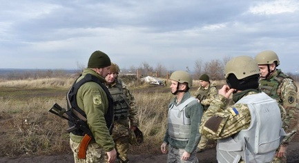 PHOTOS. The U.S Military Delegation Arrived in the ATO Zone