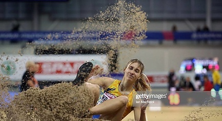 PHOTOS. Athlete from Donbas Became the Bronze Medalist of the European Athletics Indoor Championships