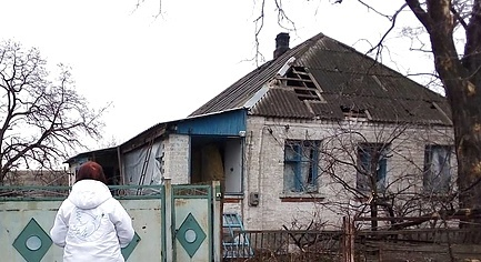 PHOTOS. In February due to the Fighting in Donbas 5 Local Residents Were Killed, 10 People Were Injured