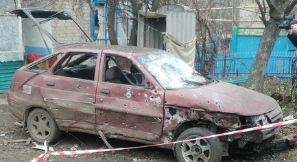 PHOTOS. VIDEO. The Consequences of the Shelling of the Novoluhanske by Militants in Donbass