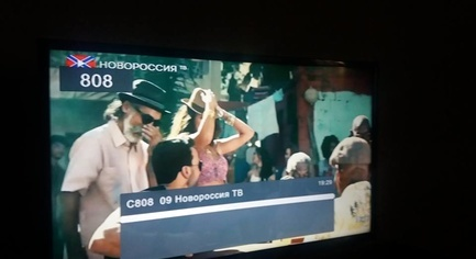 After the Launch of the Blocking System, Propaganda TV Is Still Working in the Donetsk Region