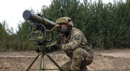 "PHOTOS. VIDEOS. Ukrainian Javelin Already in ATO: the Missile Complex ""Korsar"" Were Embraced by Armed Forces of Ukraine"