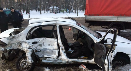 PHOTOS. Representative of the OSCE SMM Has Died in a Traffic Accident in the Donetsk Region