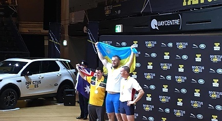 PHOTOS. ATO Veteran from Donbas Won «Gold» at «Invictus Games» in Australia