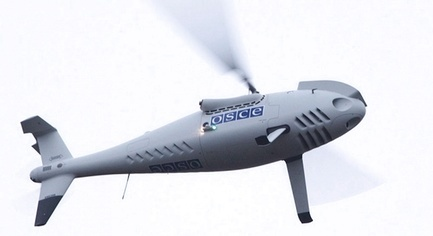 Militants Tried to Knock Down the OSCE Drone