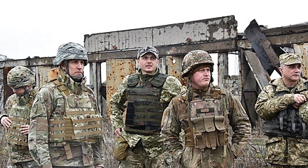 PHOTOS. American Military Visited Positions of the Armed Forces of Ukraine in Donbas