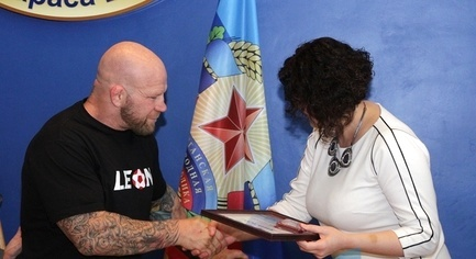 """All the Freaks Were Adopted"" - American Fighter Jeff Monson Was Awarded With the Diploma of Doctor of Sciences by the Militants"