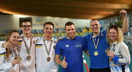 Donbas Underwater Sportsmen Won 10 Awards of World Cup in Swimming
