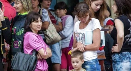 Internally Displaced Persons of Donbass Live on $2.5 a Day